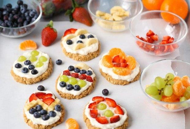 No Bake Easter Egg Fruit Tarts. Photo courtesy of SuperHealthyKids.com