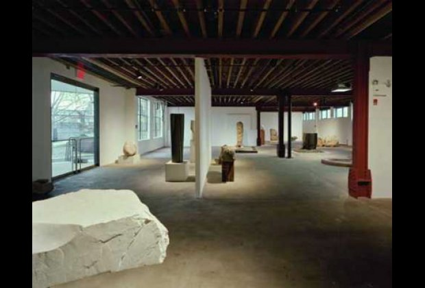 Noguchi has two floors of serene galleries; photo courtesy of the Noguchi Museum