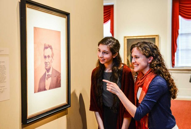 Meet Abe Lincoln at the National Portrait Gallery. Photo by JC Briceno/FotoBriceno courtesy of Smithsonian's NPG