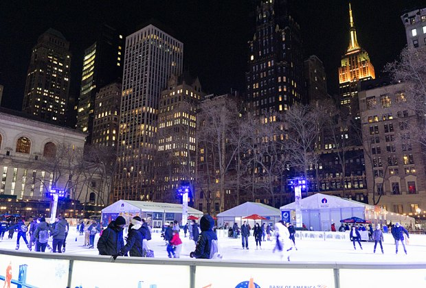 9 Best Ice Skating Rinks In Nyc For Kids And Families Mommypoppins Things To Do In New York City With Kids