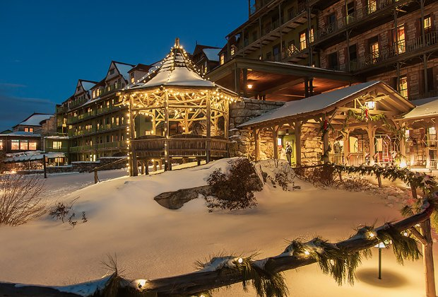 Mohonk Mountain House is a classic all-seasons day trip destination