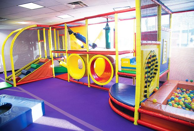 budget-friendly play space Chelsea Piers Toddler Gym