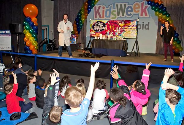 Kids will discover science everywhere during Kids Week at the Intrepid. Photo courtesy of the museum