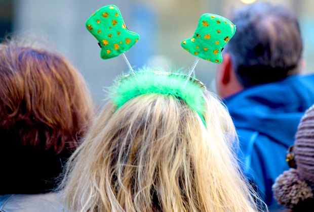 The big St. Patrick's Day Parade is one of the many things to do in NYC to celebrate the holiday. Photo by Shinya Suzuki via Flickr