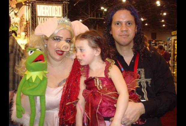 Me and my family at NYCC