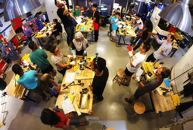 Maker Spaces for Drop-In Creator Fun with NYC Kids