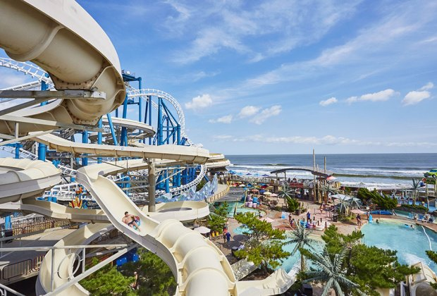 Ocean Oasis water park is great for a summer day trip destination