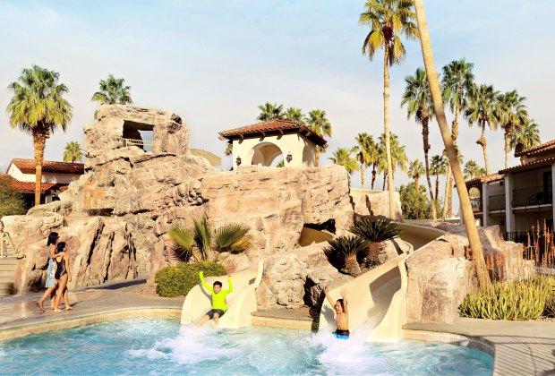 LA's Best Swimming Pools with Play Areas: Omni Rancho Las Palmas Resort Spa