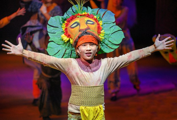 Catch a show like the Lion King Jr. Photo courtesy of Orlando Repertory Theatre