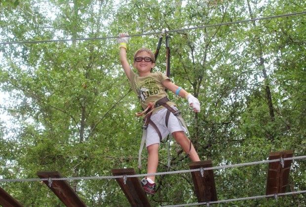 Photo courtesy of Orlando Tree Trek Adventure Park