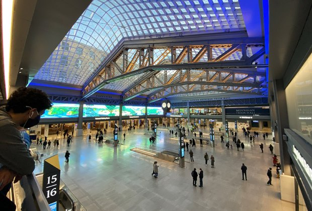 Moynihan Train Hall is worth a visit even if you're not catching a train to a spring break getaway..