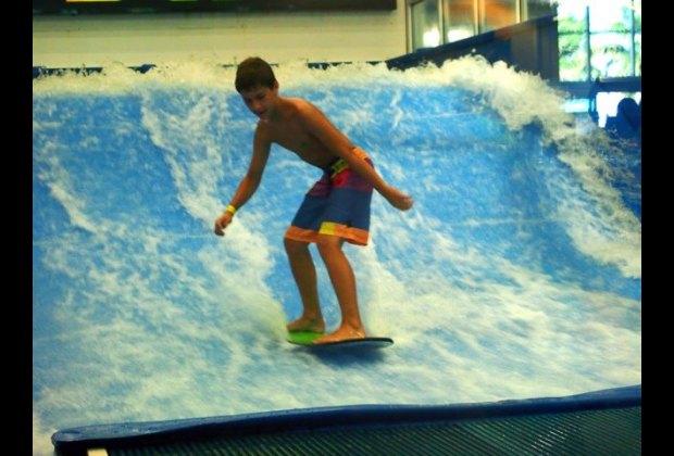 Flow Rider indoor surfing at Surf Style