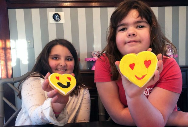 Kids can decorate cookies and show each other their creations virtually.