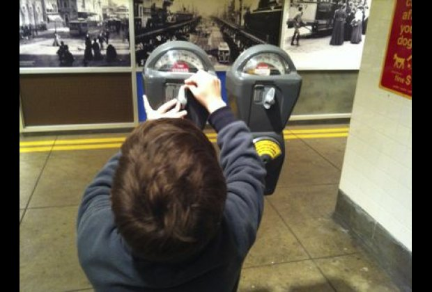 Playing with parking meters