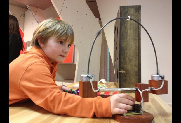 Logan flexes his engineering muscles