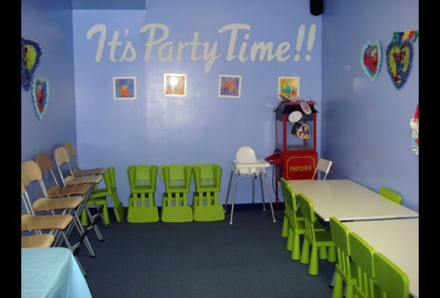 The spot hosts parties, too