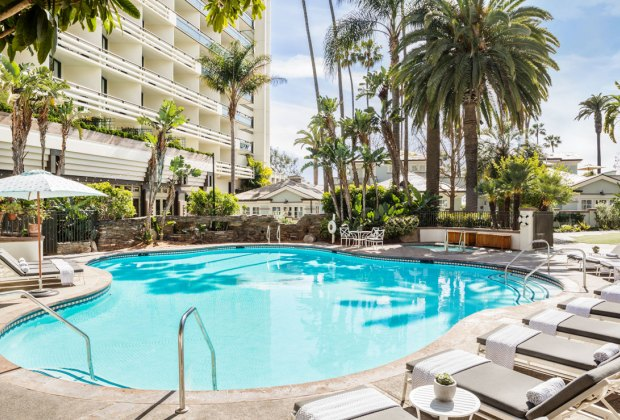 LA's Best Swimming Pools with Play Areas: Fairmont Miramar