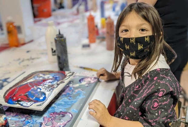 Summer Art Camp. Photo courtesy of Portside Arts Center