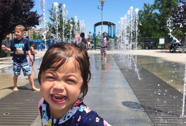 Potomac Yards Interactive Fountain