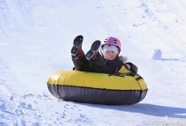 There are 10 tubing lanes at Powder Ridge Park. Photo courtesy of the venue