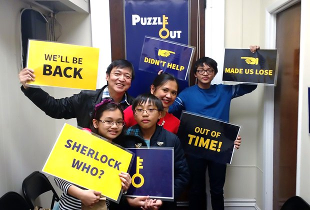 Work together to solve clues at NJ escape rooms like Puzzle Out.