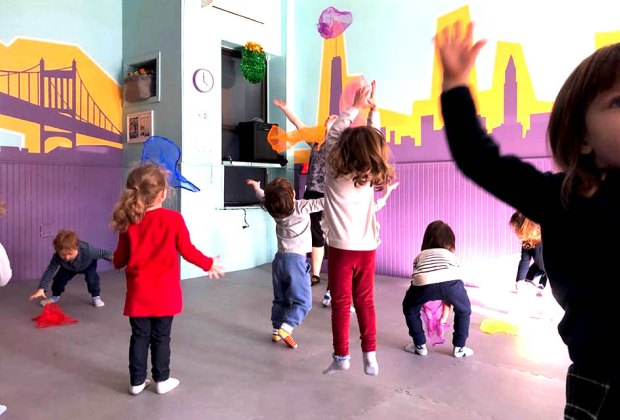 Move, dance, and play at Raising Astoria's Creative Movement class for ages 2-4.