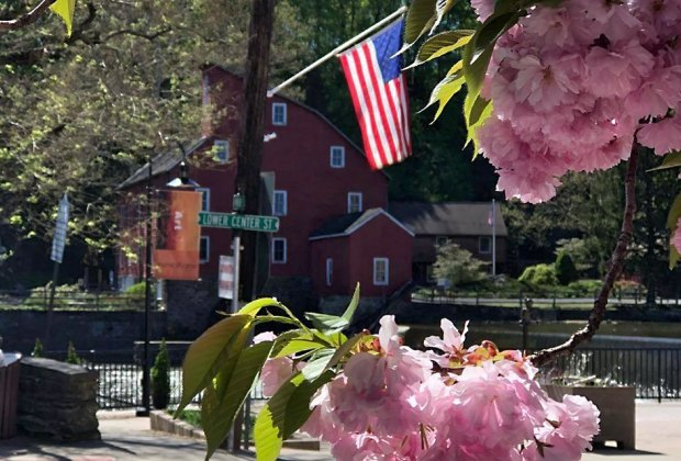 The Red Mill Museum Village boasts more than 200 years of history, featuring 12 buildings located on 10 acres, with exhibits and special events. Photo courtesy of the Red Mill