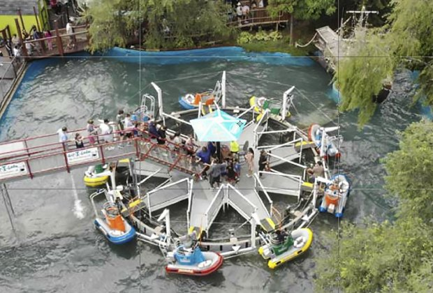 Ride the Rescue Boats at Adventureland