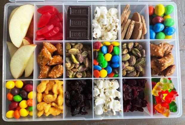 a box a snacks