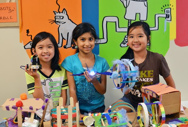 Learn the fundamentals of engineering through hands-on learning at the Brooklyn Robot Foundry.