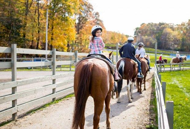 Rocking Horse Ranch Resort kids riding horses