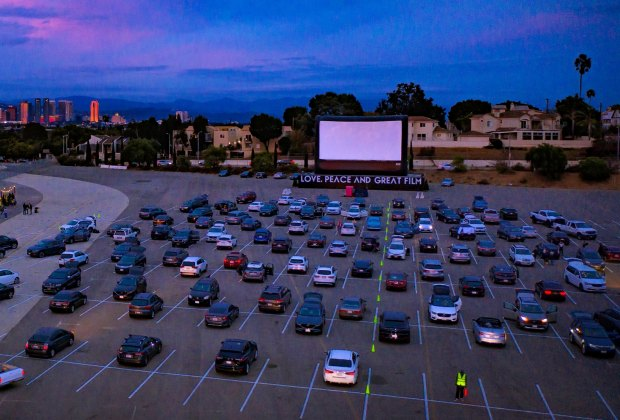 Drive-in and dine at the Santa Monica Airport.