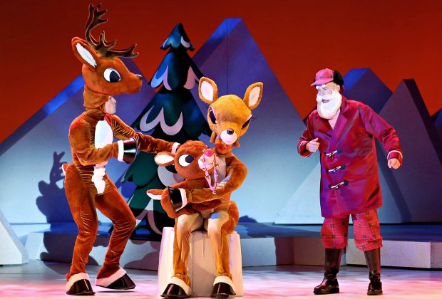 Rudolph The Red-Nosed Reindeer: The Musical will remind you of the animated classic movie. Photo courtesy of Shubert Theater