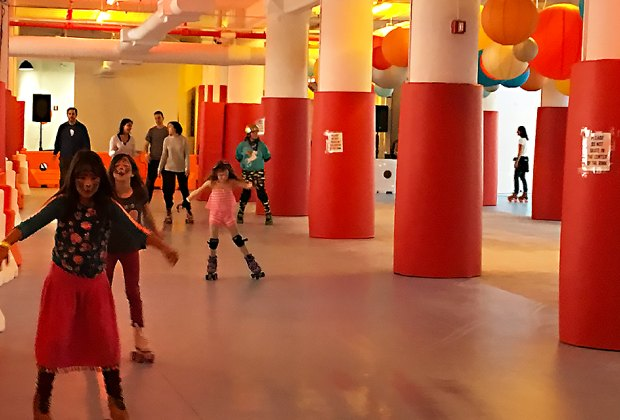 Head to IC for the new roller rink and more kid fun!