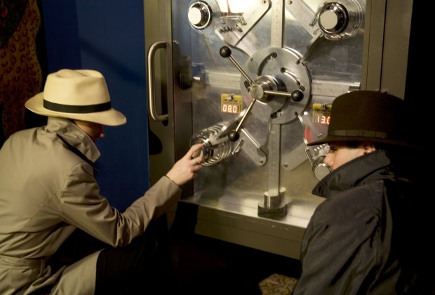 See the International Spy Museum with kids.