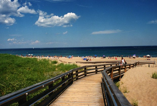 Family Campgrounds near Boston with Extras for Kids: Salisbury Beach