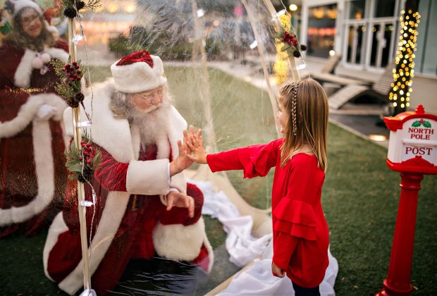 Socially Distant Santa Activities in Connecticut for Kids in 2020