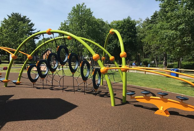 Revamped Saxon Woods Park Playground In White Plains Is Worth A