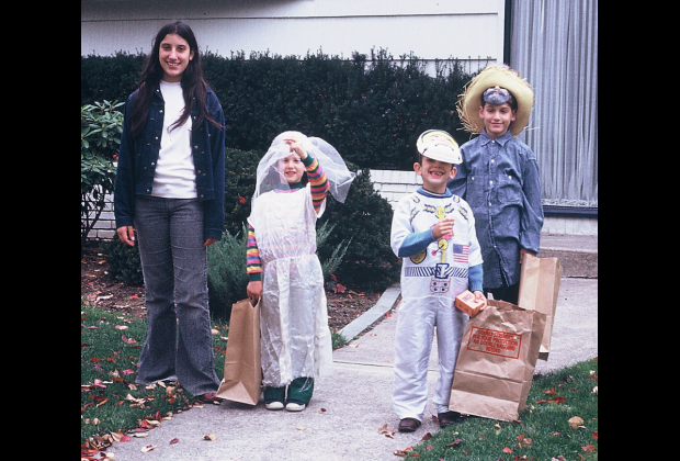 Back when we all wanted to grow up to be brides or astronauts. Or hobos  sc 1 st  Mommy Poppins & 70s Nostalgia: Adorably Awkward Halloween Costumes from our ...