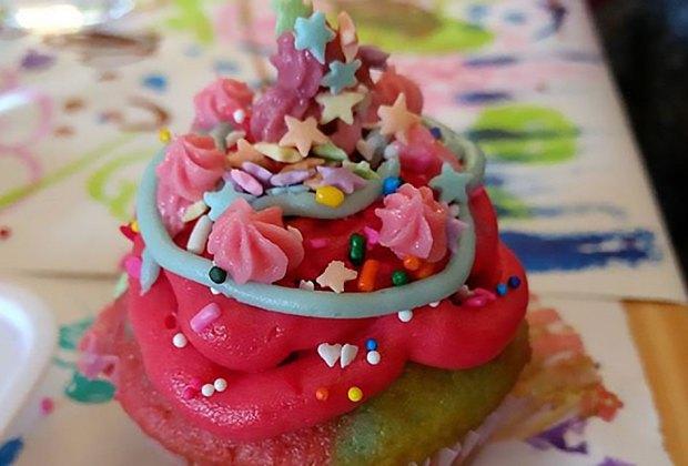 Create A Custom Birthday Like DIY Rainbow Cupcake Decorating At Sky Village NYC