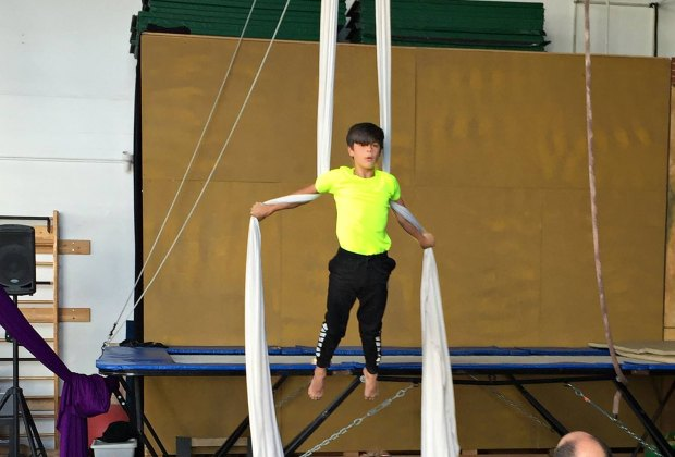 Silks at Orlando Circus School