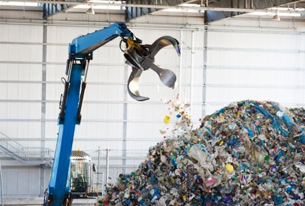 Learn all about recycling with a visit to the South Brooklyn Marine Terminal in Sunset Park, Brooklyn. Photo courtesy of Open House New York
