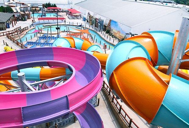 Splashplex water park water slides