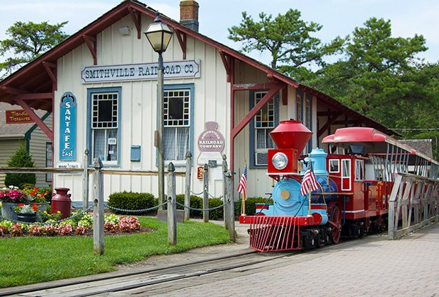 All-aboard the Smithville Railroad