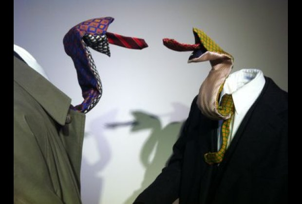 My son really enjoyed these two snake-like neckties