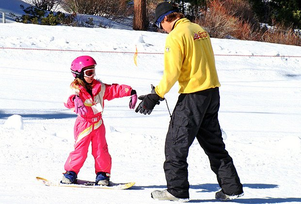 Skiing and Snowboarding with Los Angeles Kids: Ski Day Trips