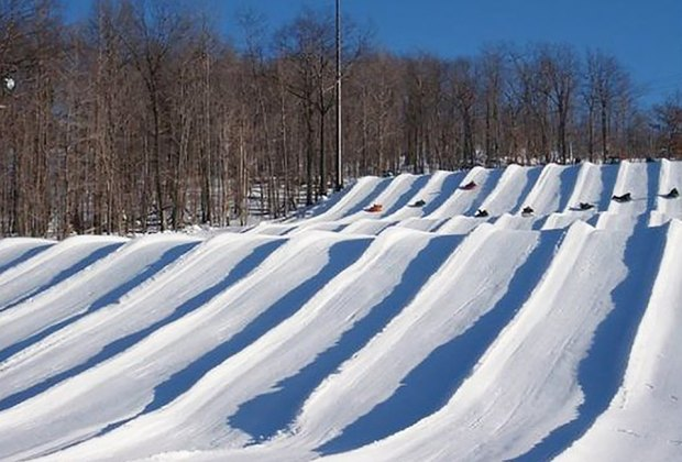 Montage Mountain Best Snow Tubing Spots Near New York City