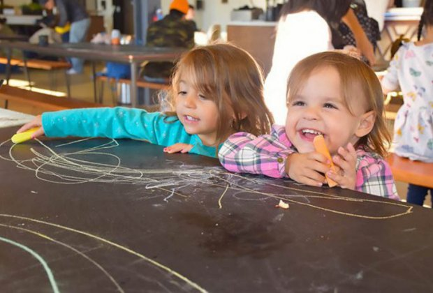Social Play Haus is fun for toddlers and adults