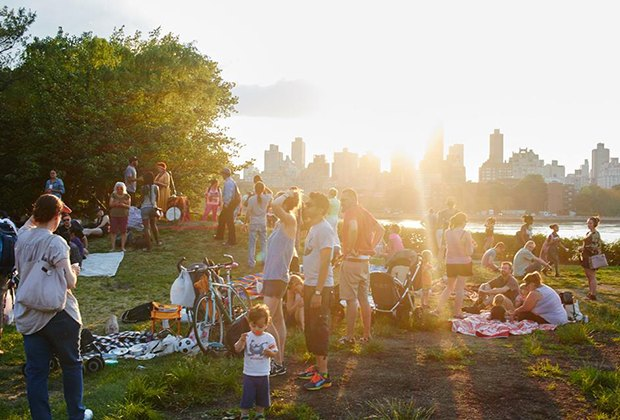 Host a birthday party with a view at Socrates Sculpture Park