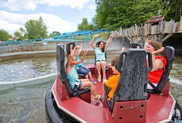 Story Land has plenty of water rides to help you cool off in the summertime. Photo courtesy of the park